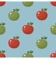 Seamless Texture Apple pattern vector image