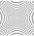 abstract halftone ba vector image