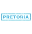 Pretoria Rubber Stamp vector image