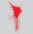 Paint splat vector image