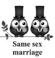 Same Sex Marriage vector image