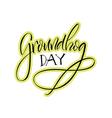 groundhog day 06 vector image