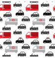 city car seamless pattern vector image