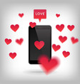 valentine and love concept vector image
