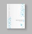 a brochure template modern vector image vector image