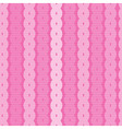 Abstract Retro Seamless Pink Background vector image