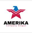 Amerika vector image