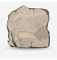 Big Rock stone vector image