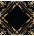 gatsby square vector image