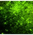 Green glitters on a soft blurred EPS 10 vector image