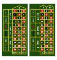 casino table vector image