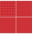 Red and white background for picnics Eps 10 vector image