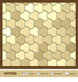 pattern wallpaper gold vector image vector image