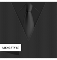 modern mens style background vector image