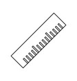 ruler tool isolated vector image