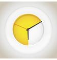 Plate clocks vector image