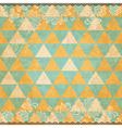 Grunge mosaic background vector image