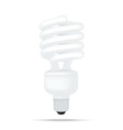 popular compact fluorescent lamps white energy sav vector image vector image