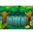 Deep Forest vector image