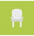 chair icon design vector image