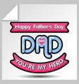 fathers day icons 14 vector image