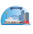Sydney vector image vector image