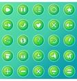 Game UI set vector image