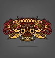 Barong Balinese traditional art vector image