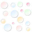 abstract icons background vector image