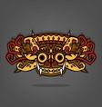 Barong Balinese traditional art vector image
