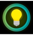 green eco energy bulb concept vector image