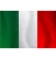 Italy flag polygonal vector image