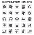 Safety icon vector image