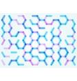 Seamless pattern of the hexagonal net vector image