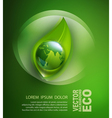 abstract background for ecological design vector image vector image