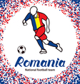 Romania 3 vector image