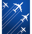 Aviation background vector image