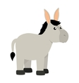 cute mule manger character vector image