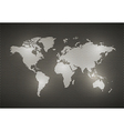 World Map Metal texture vector image