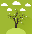 Flat spring vector image