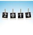 2014 on snapshots vector image
