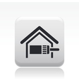 paint home icon vector image vector image