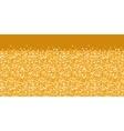golden shiny glitter texture horizontal border vector image
