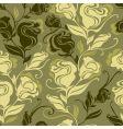 vintage rose pattern vector image
