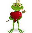 frog Princess vector image vector image