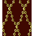Gold chain pattern7 vector image