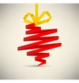 christmas decoration 2012 vector image vector image
