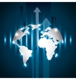 tech world vector image
