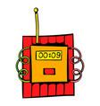 dynamite icon icon cartoon vector image