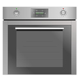 Electic Oven vector image